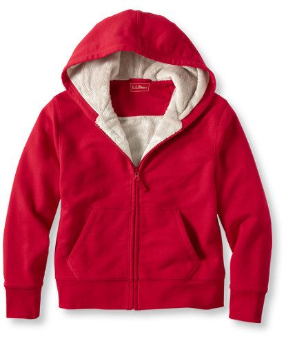 Boys' Fleece-Lined Camp Hoodie: Sweatshirts and Fleece | Free Shipping at L.L.Bean
