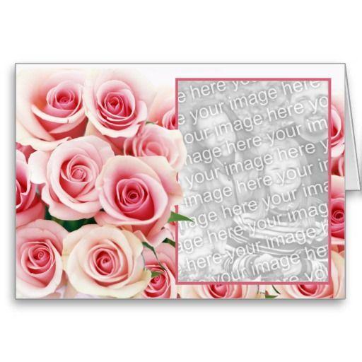 valentine card rose