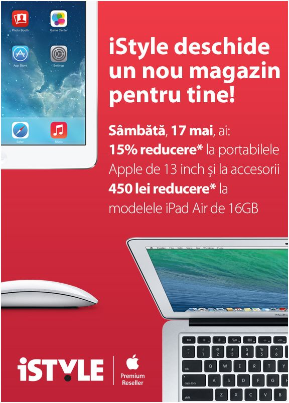 iStyle Cluj - Apple Premium Reseller la Polus Center Cluj