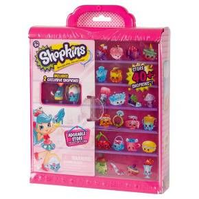 So much to adore in your very own store!<br>Create a Shopkins window display for all to adore in your Shopville Season 7 Collector's Case! •Show off a collection that will stop traffic and store over 60 Shopkins! It's the only way to get carried away!! <br><br>• Window dress your shopkins store!<br>• Make a display for all to adore!<br>• Go window shopping in your shopkins store!<br>&bull...