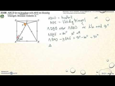 Matematik 5000 Ma 2a   Kapitel 3   Geometri   Geometri och bevis   3121