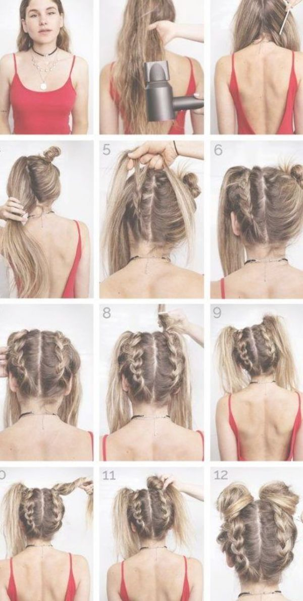 170 Easy Hairstyles Step by Step DIY hair-styling can help you to stand apart from the crowds – Page 59 – My Beauty Note