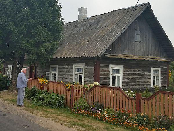 Wasyliszki Stare, dom Czesława Niemena
