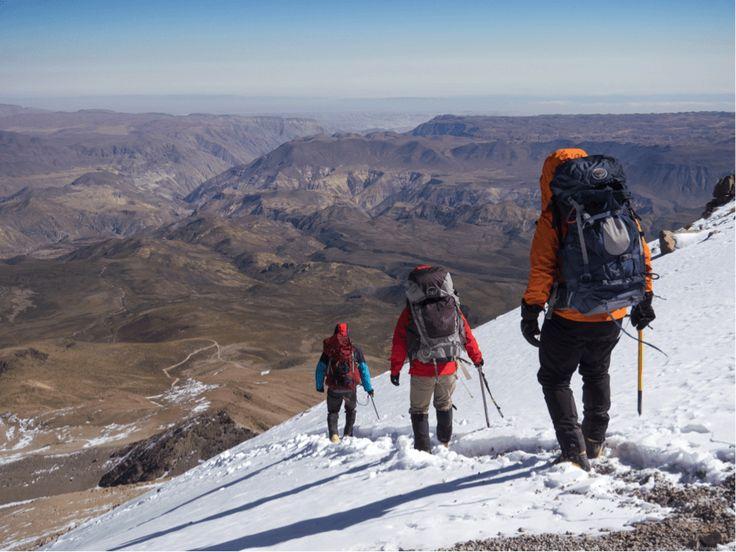 VOLCÁN ANCOMA (5.660 M): NUEVA RUTA POR CARA SUR (O EL ARTE DE APRENDER A RESPIRAR)