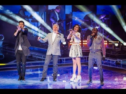 The Coaches Perform 'Beautiful Day' - The Voice UK - Live Shows 1 - BBC One - YouTube