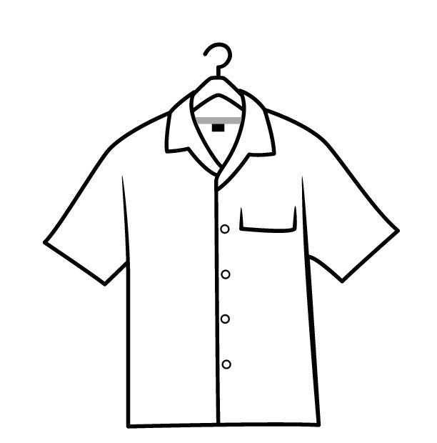 Okul Oncesi Gomlek T Shirt Boyama Sayfasi Okul Oncesi Etkinlik Faliyetleri Madamteacher Com Gomlek Tisort Mont