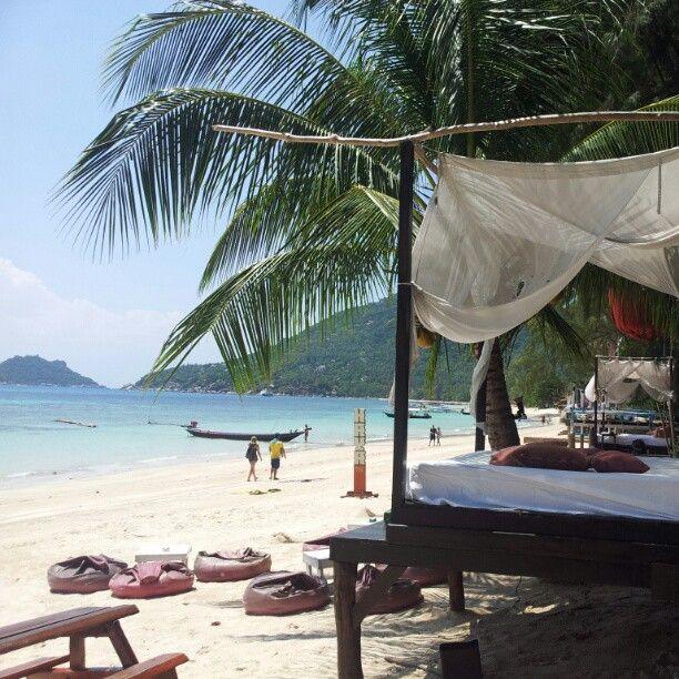 หาดทรายรี (Sairee Beach) in Ko Tao, Surat Thani, Koh Tao