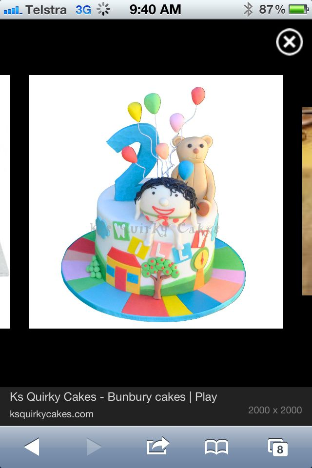 Playschool cake