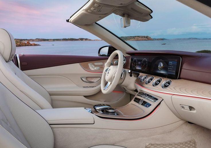 Novo Mercedes-Benz E-Class Cabriolet 2019 – um conversível Mercedes E-Class: Preço, Consumo, Interior e Ficha Técnica