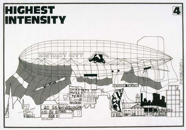 Archigram Peter Cook Instant City