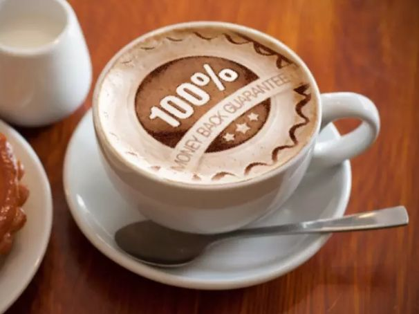I Will Add Your LOGO In The Froth Of 3 Different Cups