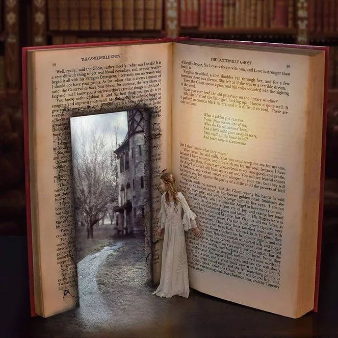Open a book and enter a world and be a part of something you never thought you could be a part of.