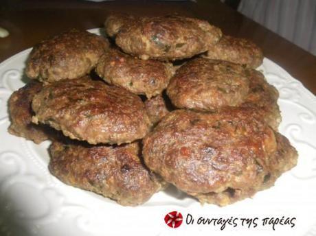 Μπιφτέκια με χοιρινό κιμά