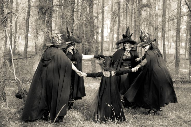 Witch Family Photo Shoot