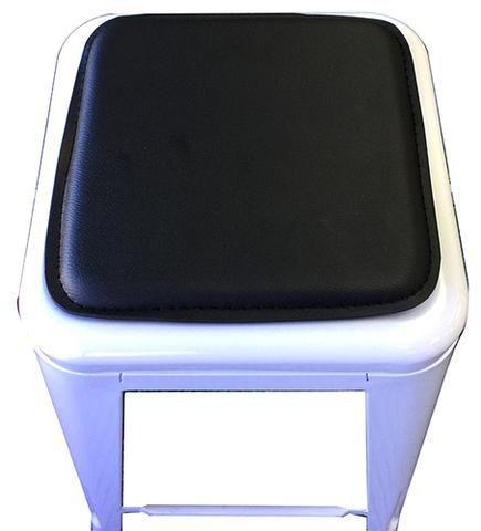 Black Tolix Magnetic Stool Cushion Pad