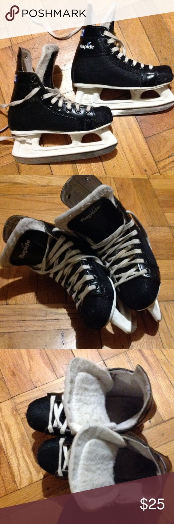 CCM Hockey Skates Boys CCM Rapide hockey skates. Great ankle support. Needs to be sharpened. CCM Other