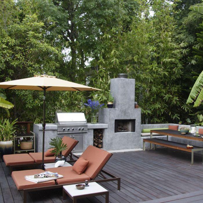 25 Cool Outdoor Entertainment Area Design Ideas
