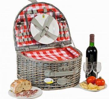 корзина для пикника Saumur 2 персоны