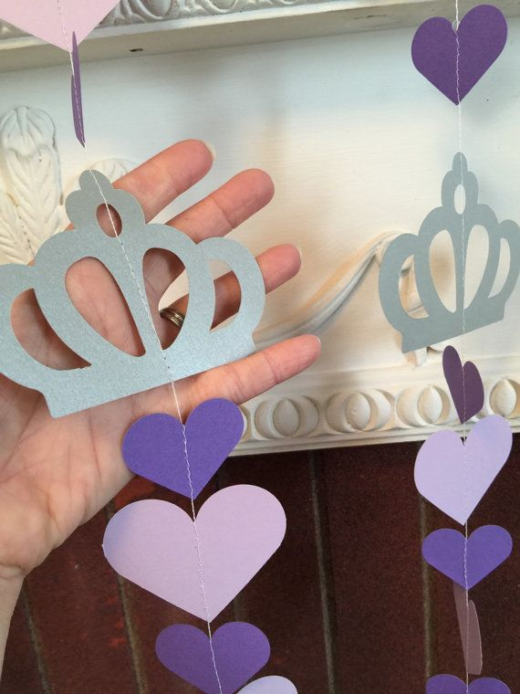 Princess Sofia Inspired Birthday Garland by anyoccasionbanners