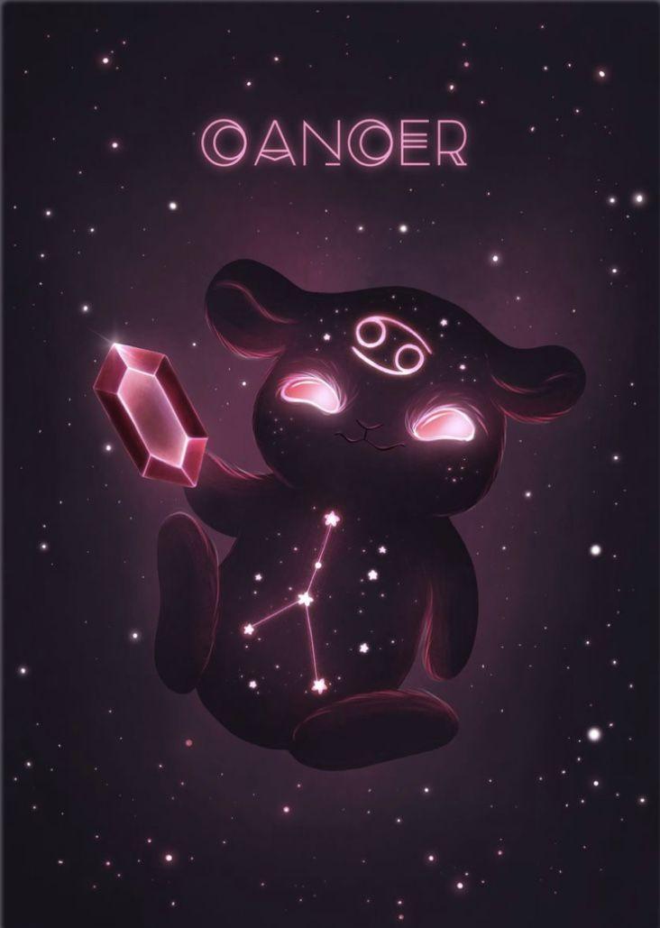 Cancer Zodiac Monster - Zuzana Ziakova Cancer Zodiac Art, Zodiac Signs Astrology, Zodiac Star Signs, Aquarius Zodiac, My Zodiac Sign, Turus Zodiac, Dragon Zodiac, Astrology Chart, Arte Digital Fantasy