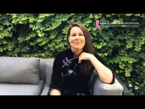 NBCF Ambassador Julia Morris and a short video for the @National Breast Cancer Foundation Australia 20th anniversary