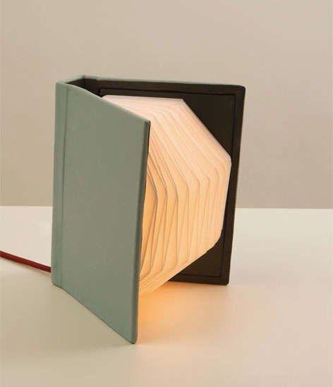 Ide membuat lampu hias accordion dari Odner bekas