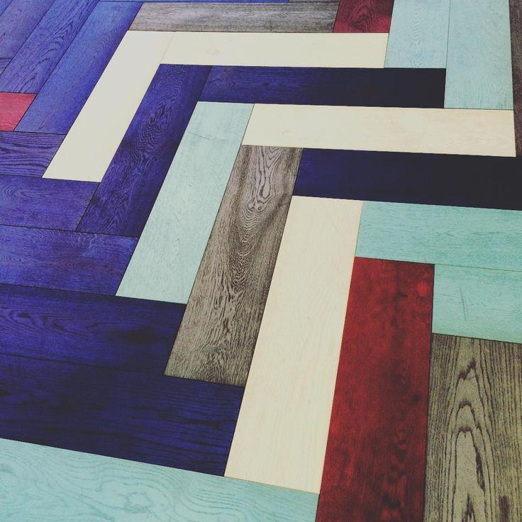 Exploring @100percentdesign #100%design @hakwood flooring #wood #design #colour…