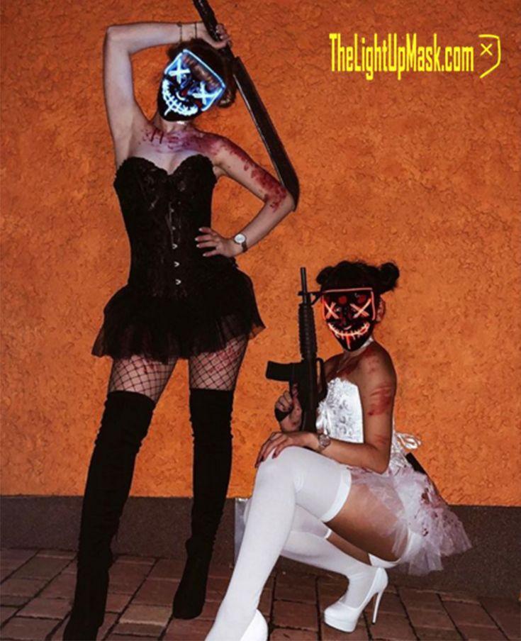 TheLightUpMask.com – Purge Mask – Sexy Halloween – Halloween Mask – LED Mask