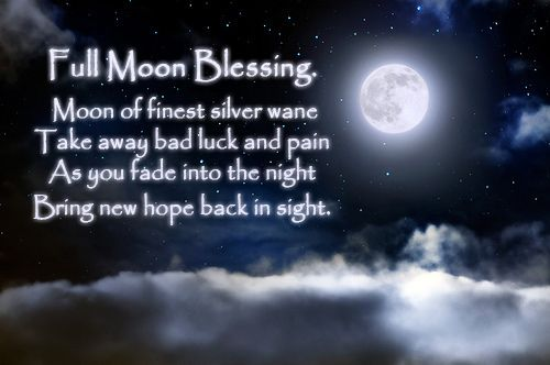 Full Moon Blessings.   https://www.facebook.com/pages/Wicca-Teachings/127815357367419