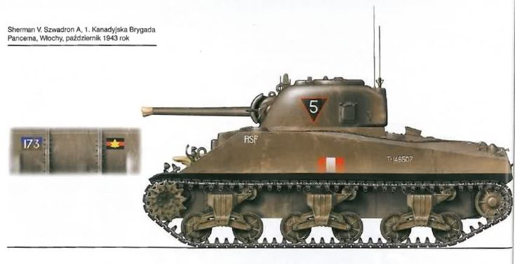 M4 Sherman - 1st Canadian Armoured Brigade Italy 43-44 at World of Tanks - mods and community