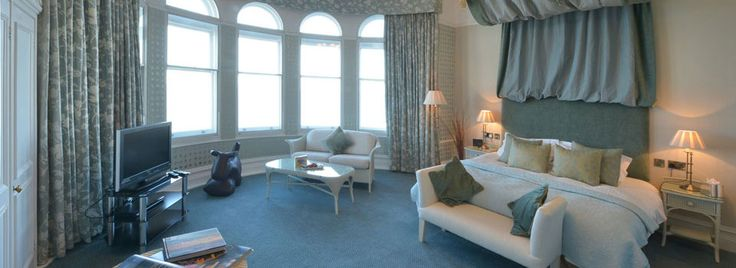 The Headland Hotel Fistral Beach Hotel rooms or three bedroom holiday cottages £140- £280  a night