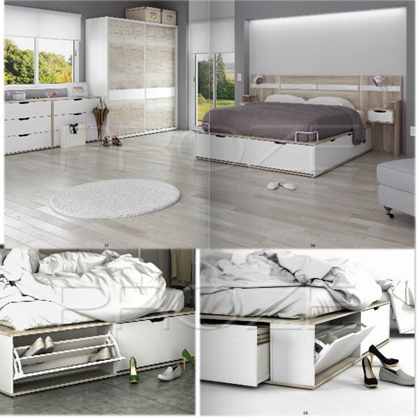 Las 25 mejores ideas sobre cama 2 plazas en pinterest for Tipos de camas de 2plazas