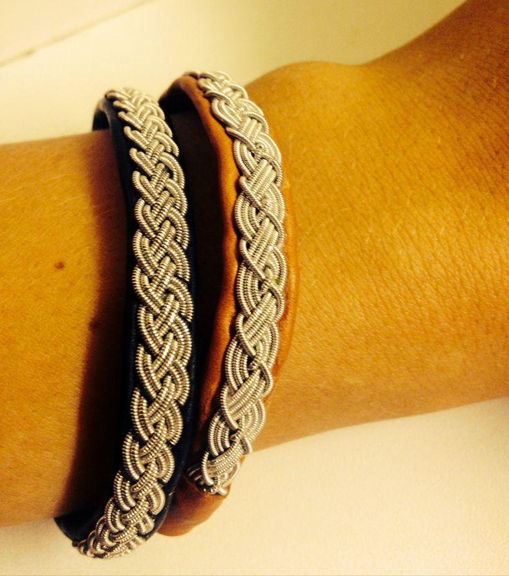 Same bracelet, Tin bracelet, Tenntrådsarmband. Fyrfläta