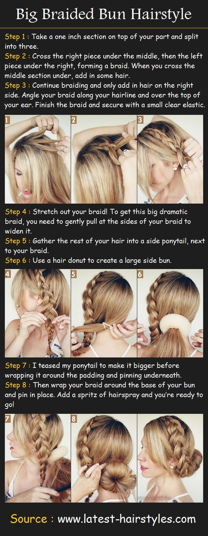 The Big Braided Bun Hair Tutorial | Beauty Tutorials