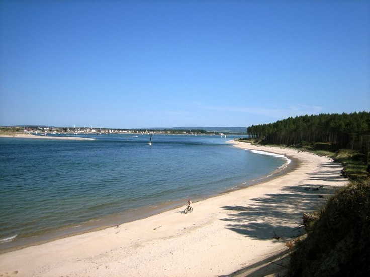 Findhorn Bay - is it any wonder I'm going to live here - just beautiful