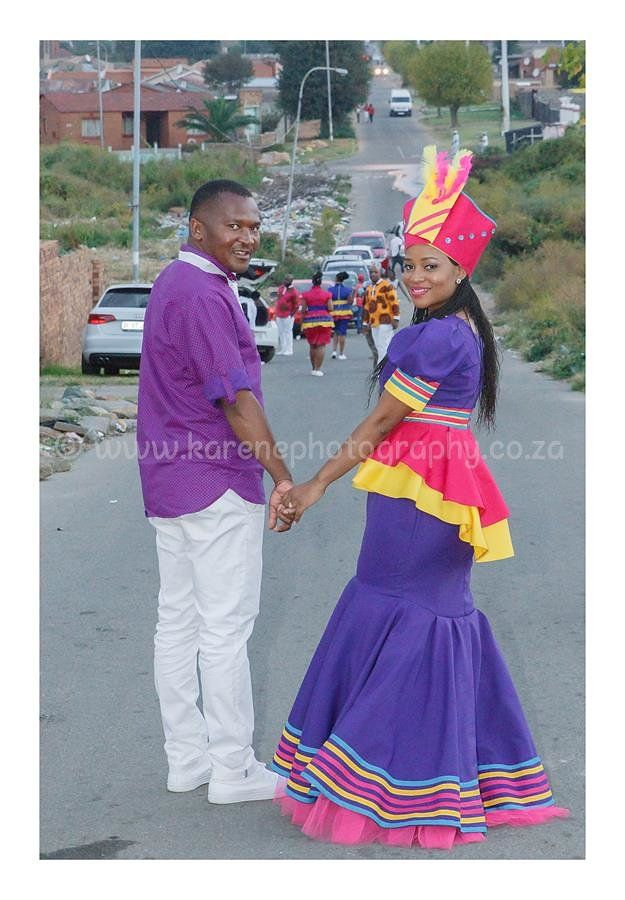 My Sepedi wedding outfit