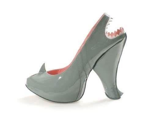 Predatory Fish Footwear : Kobi Levi Shark Shoes