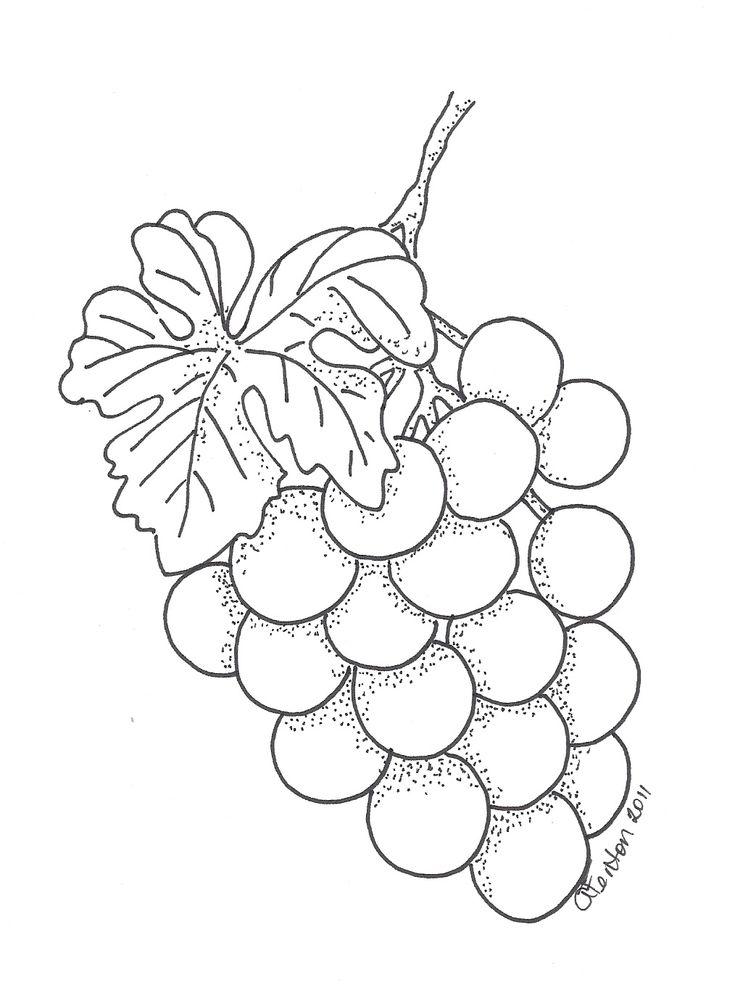 Anne 39 s quot Cards 4 U quot Grapes Print