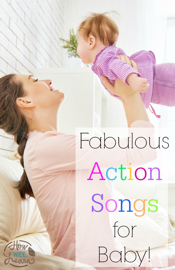 These are such great songs to sing with your Baby! Great ideas for playing with baby - and great learning for them too!