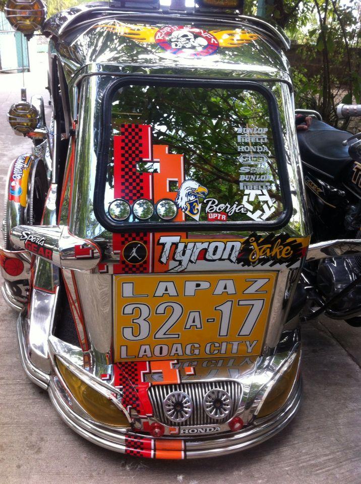 Tricycle Of Laoag City Philippines Filipijnen