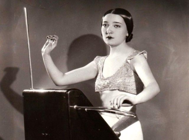 """Born in 1911, Clara Rockmore is widely regarded as the greatest Theremin player to have ever lived.  A child prodigy, Clara began her musical career as a violinist studying with Leopold Auer, but gave up the instrument in her teens due to an arthritic condition in her bow arm.  By this point she had immigrated to the US and befriended Leon Theremin, who had recently developed an instrument that bore his name, the Theremin"".   http://www.moogmusic.com/news/remembering-clara-rockmore#"