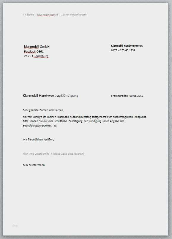 Angenehm Festnetz Kundigen Vorlage Galerie In 2020 Handyvertrag Vorlagen Lebenslauf Vorlagen Word