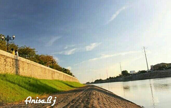 Banjir canal river...Semarang