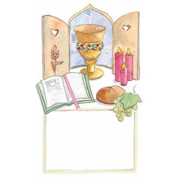 17 best images about primera comunion on pinterest baptisms communion and angeles - Recordatorios de comunion para imprimir ...