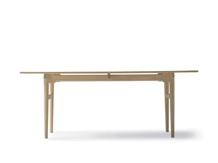 The Carl Hansen CH327 dining table is a traditional wooden dining table that typifies the Scandinavian roots of the the Designer Hans J. Wegner.
