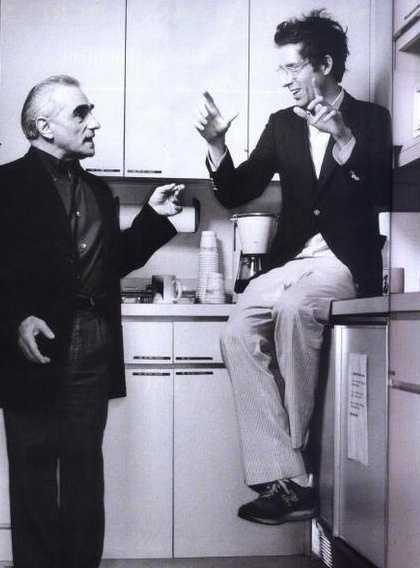 Martin Scorsese and Wes Anderson