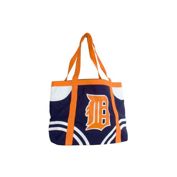 Detroit Tigers Canvas Tailgate Tote ($4.99) found on Polyvore