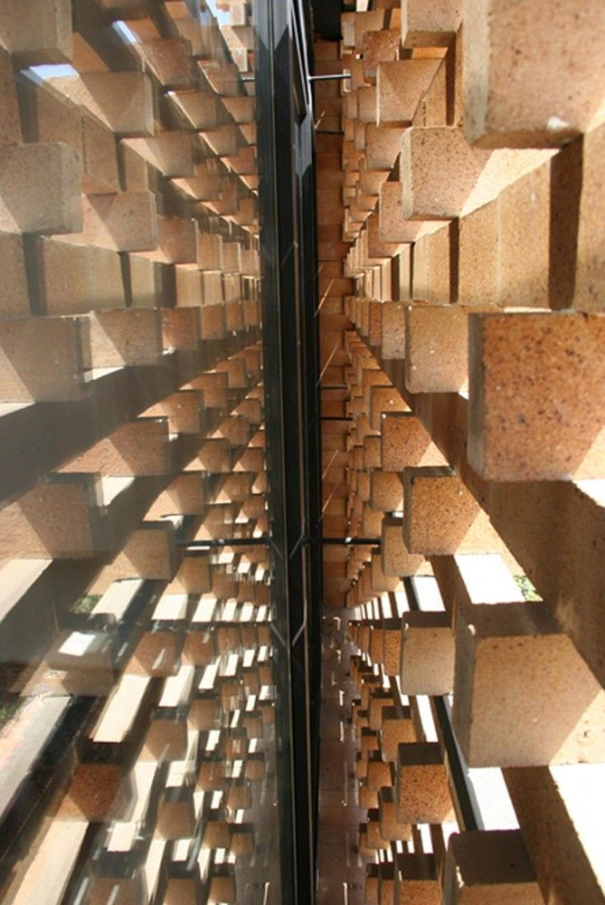 Gallery of Brick Pattern House / Alireza Mashhadmirza - 14
