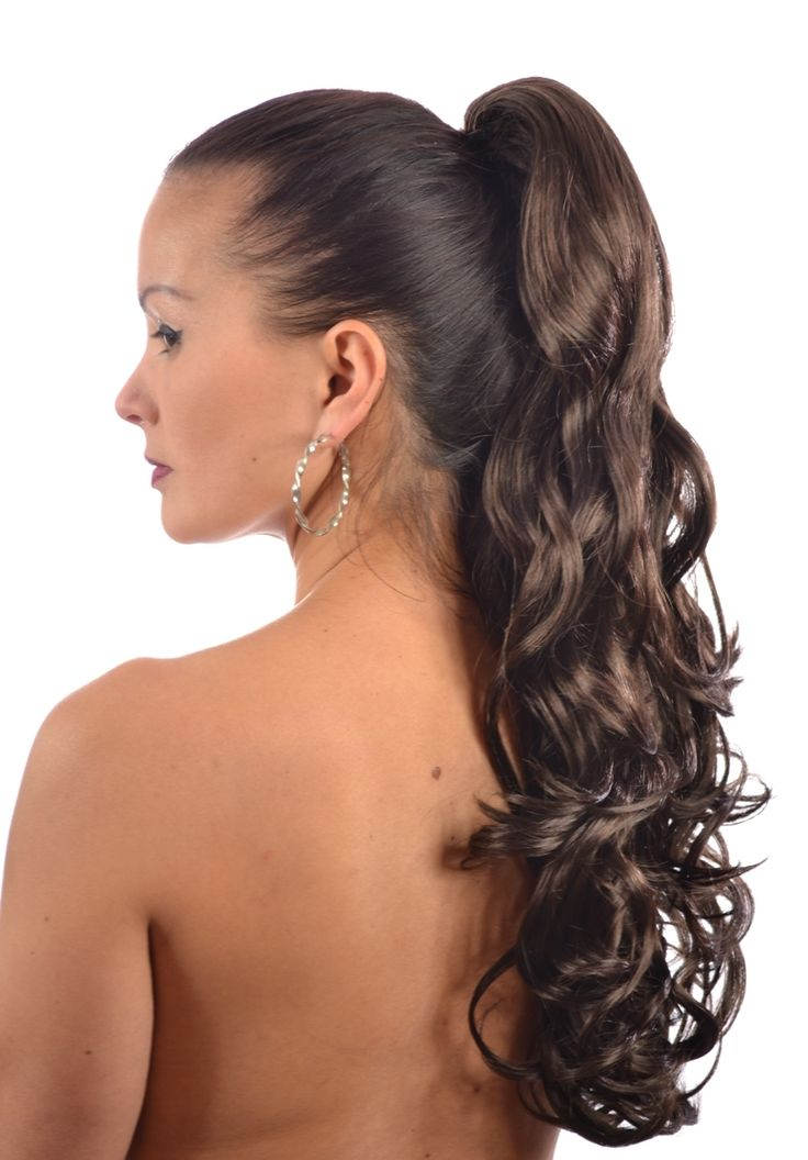 Original 11 Curly Ponytail Hairstyles