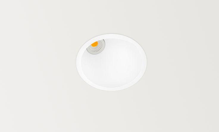 Swap asymmetric - LED luminaire. Ceiling downlight (Ceiling Recessed). — in Arkoslight.